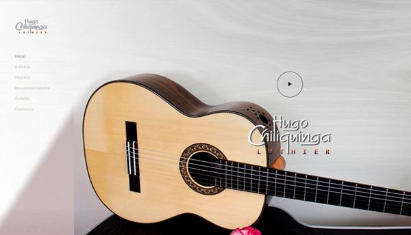 Guitarras Luthier Hugo Chiliquinga