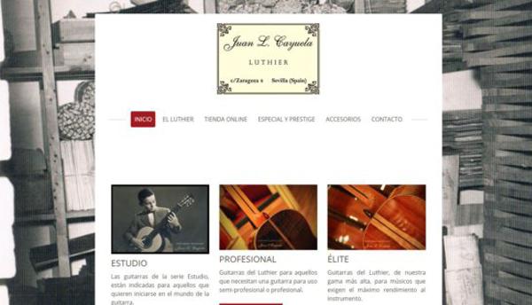 Luthier Juan Luis Cayuela