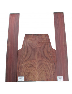 Exotic Indian Rosewood Set No. 55 for Acoustic