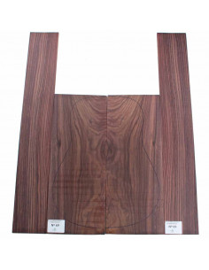 Exotic Indian Rosewood Set No. 69 for Acoustic