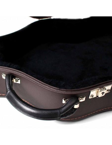 Brown Classic Guitar Case
