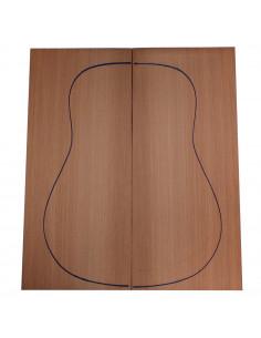 Tapas Sequoia Salvaje Guitarra Acústica