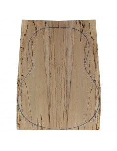 Spalted Beech Classic Guitar Backs