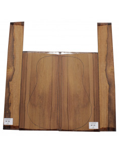 Madagascar Rosewood Set No. 18 for Classic