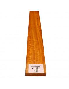 Curly Cedar No. 112 Classic Guitar Neck