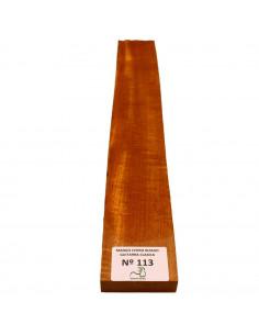 Curly Cedar No. 113 Classic Guitar Neck