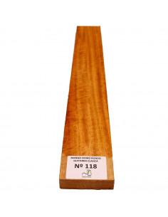 Curly Cedar No. 118 Classic Guitar Neck
