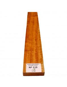 Curly Cedar No. 119 Classic Guitar Neck