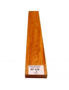 Curly Cedar No. 120 Classic Guitar Neck