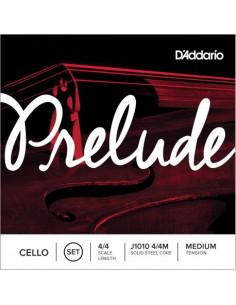 Juego de Cuerdas D'Addario Prelude J1010 4/4 Chelo