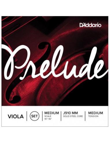 Juego de Cuerdas D'Addario Prelude J910 4/4 Viola