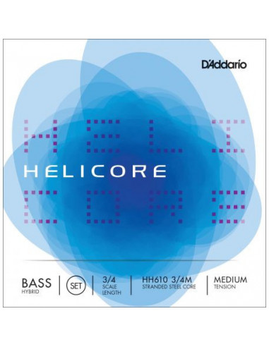 Helicore Hybrid Bass D'Addario HH610 String Set