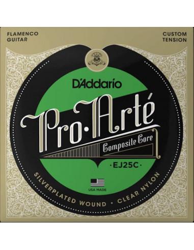Flamenco Guitar EJ25C D'Addario Strings Set