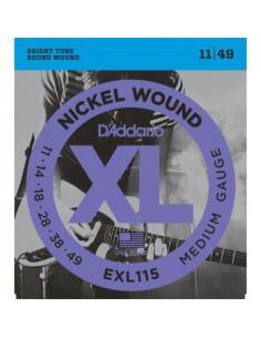 Electric Guitar EXL115 D'Addario Strings Set