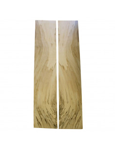 Spalted Maple Classic Guitar Sides