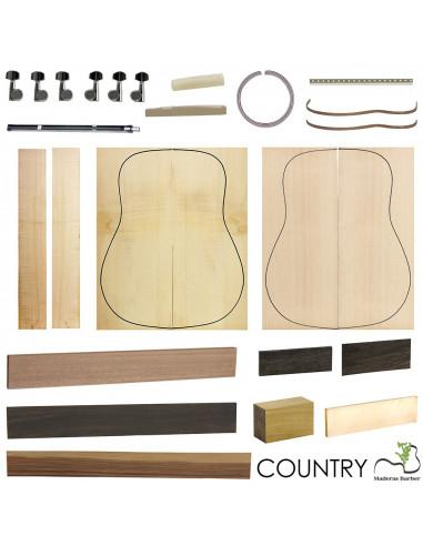 Kit Guitarra Acústica Country