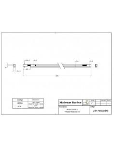370 mm double action welded head truss rod