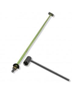 438 mm hexagonal nut precision simple action truss rod
