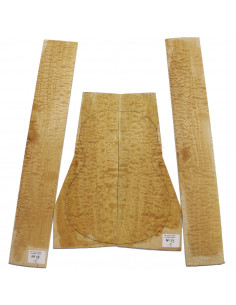 Quilted Maple Classic Guitar Set Nº 13