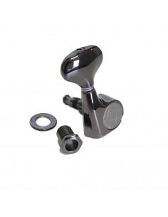 Gotoh® Machine Head 3+3 Cosmo Black SGS510Z/L5-LRCK