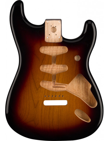 Fender® Classic Series 60's Stratocaster® Alder Body, 3-Color Sunburst