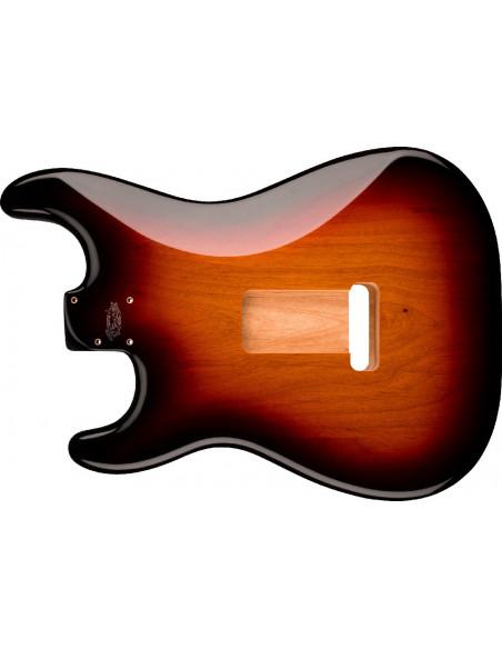Fender® Deluxe Series Stratocaster® Alder Body, 3-Color Sunburst