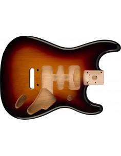 Cuerpo Aliso Fender® Deluxe Series Stratocaster® - 3-Color Sunburst