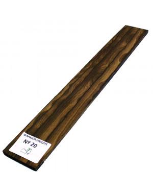 Ziricote Fingerboard Nº20