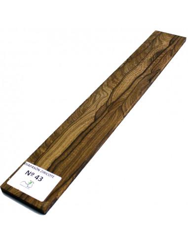 Ziricote Fingerboard Nº43
