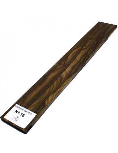 Ziricote Fingerboard Nº58