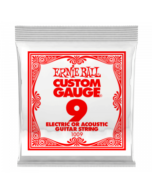 Ernie Ball 009 Plain...