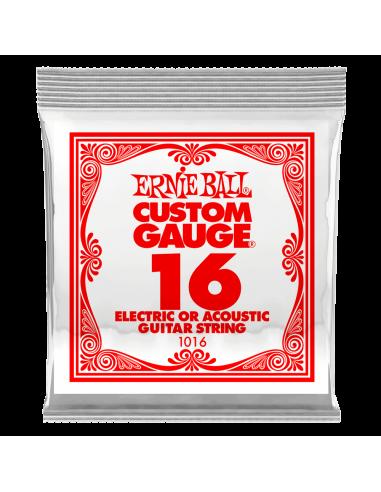 Ernie Ball 016 Plain Electric /...