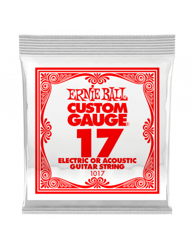Ernie Ball 017 Plain Electric /...