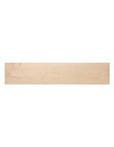 White + Green + White Plywood