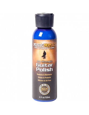 Guitar polish for all types of finishes