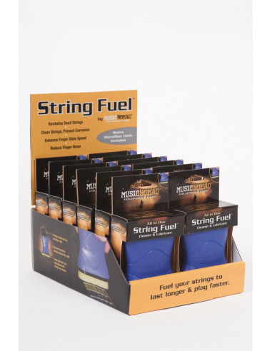Pack of 12 units of string cleaner