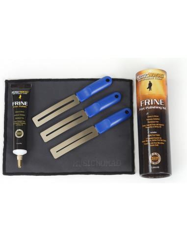Fret repair and polish kit