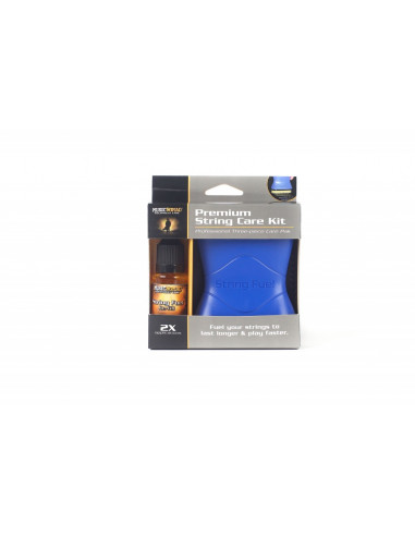 String cleaner kit with lubricant,...