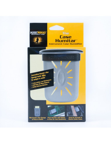 Instrument case humidifier