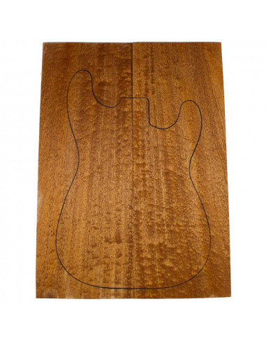 AA Drop Top Sapele Quilted Bass /...