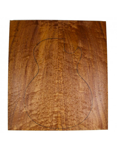 AA Body Top Sapele Quilted Bass /...