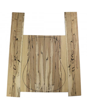 Spalted Beech Acoustic Guitar Set