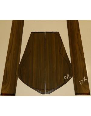 Juego Ziricote nº 11K  (550x200x4 y 800x110x3,5 mm.)