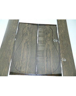Juego Ziricote nº 5G (550x215x4,5 y 825x125x4 mm)
