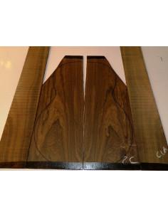 Juego Ziricote nº 2C  (550x200x4 y 800x110x3,5 mm)