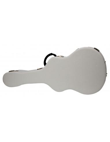 Estuche Guitarra Blanco 1070x415x140 mm externo