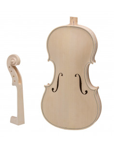 3/4 Violin Kit (Spruce, Maple and Ebony)