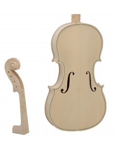 4/4 Violin Kit (Spruce, Maple and Ebony)