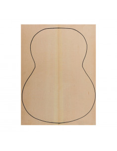 European Spruce Top AA (550x400x2,2/2,4 mm.)