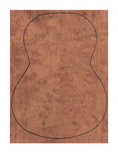 Backs Bubinga Outer Face 0,5 mm. + Bubinga Inner Face (550x400x2,2/2,4 mm.)